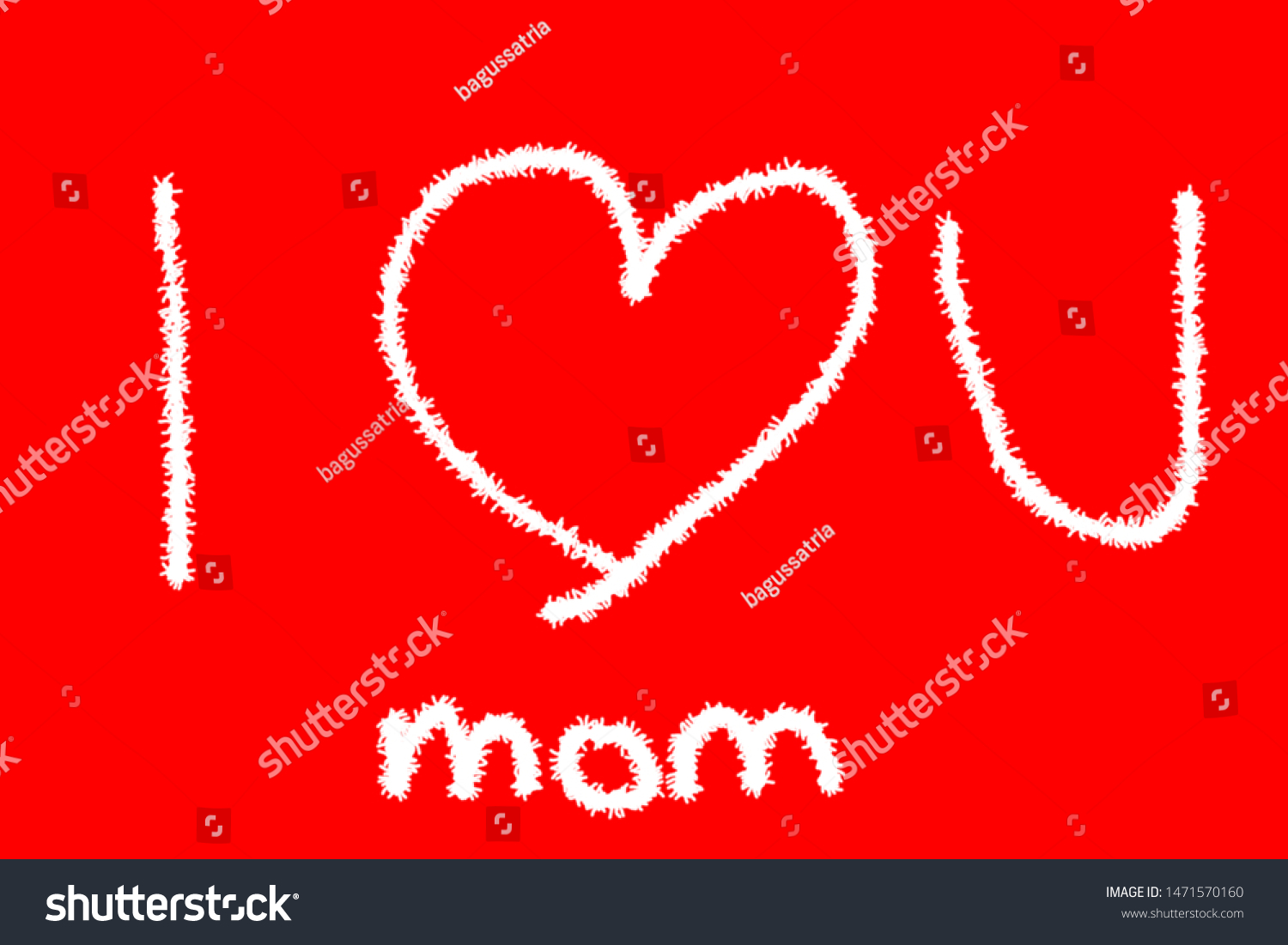 stock photo illustration of love for mom and dad with red art brushes and wallpapers suitable for wallpapers 1471570160