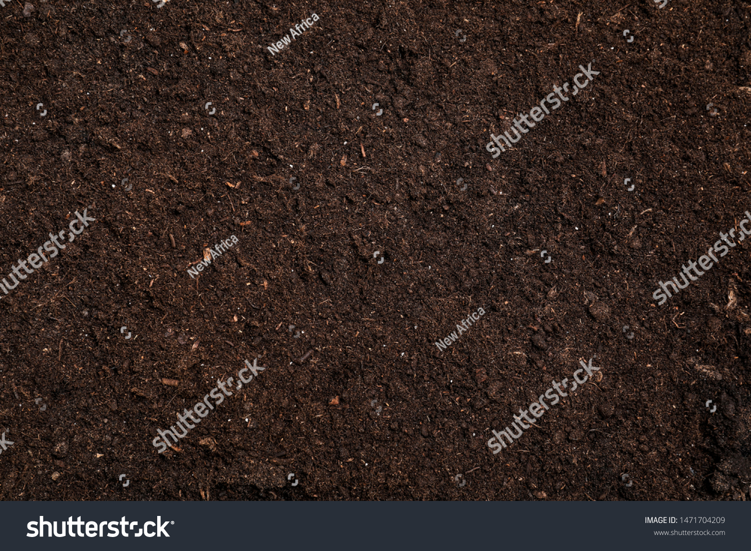 Fresh soil for gardening as background, top view #1471704209