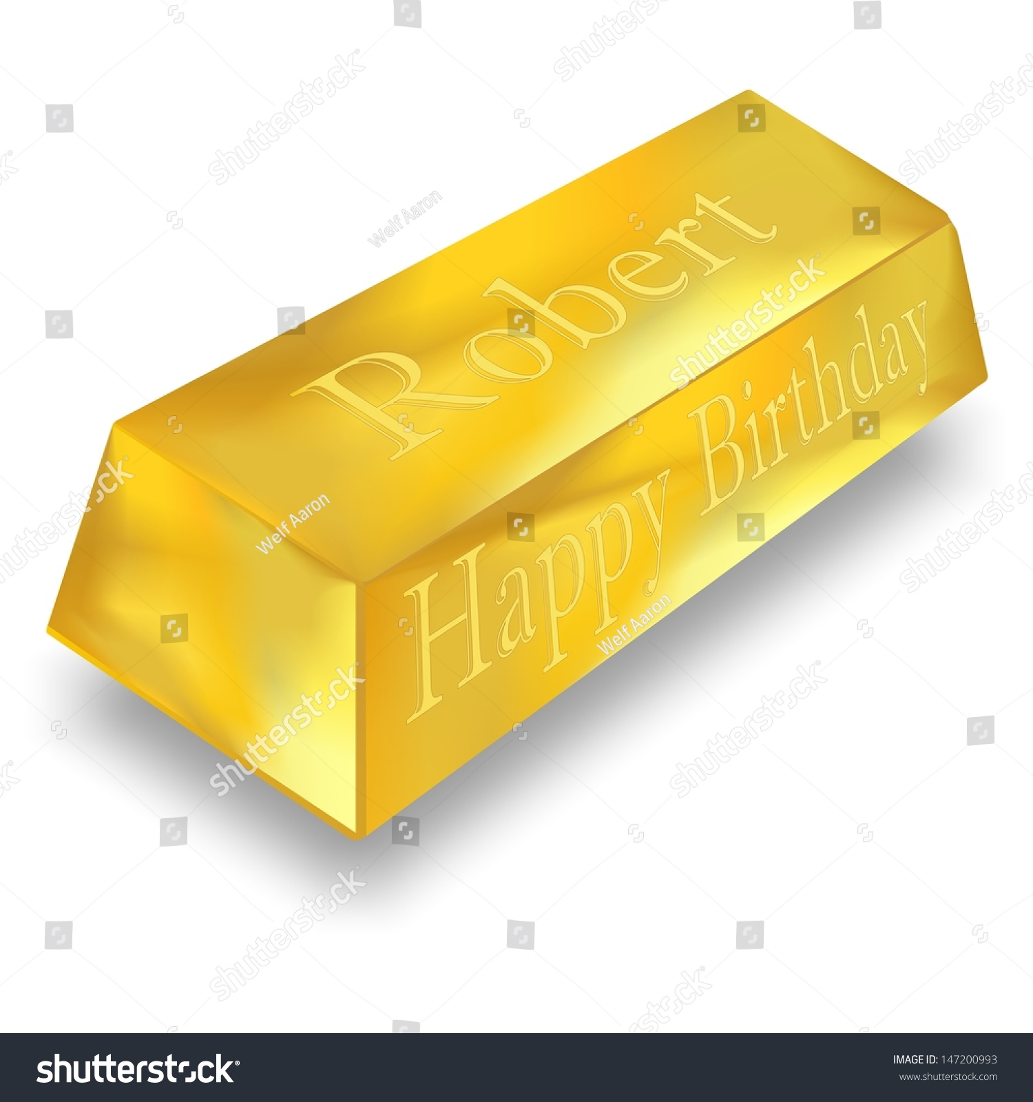 You Are Worth A Gold Bar Stock