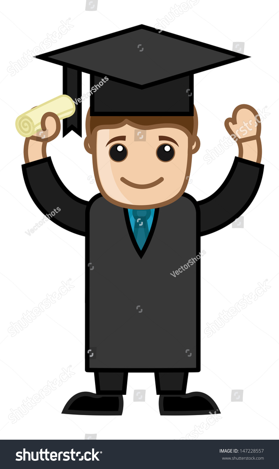 graduation success cartoon office vector illustration stock vector royalty free 147228557 https www shutterstock com image vector graduation success cartoon office vector illustration 147228557