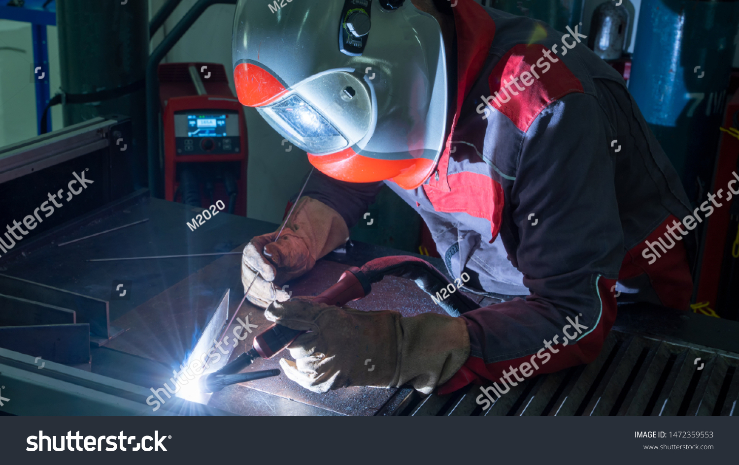 Gas Tungsten Arc Welding Gtaw Known Stock Photo Edit Now 1472359553