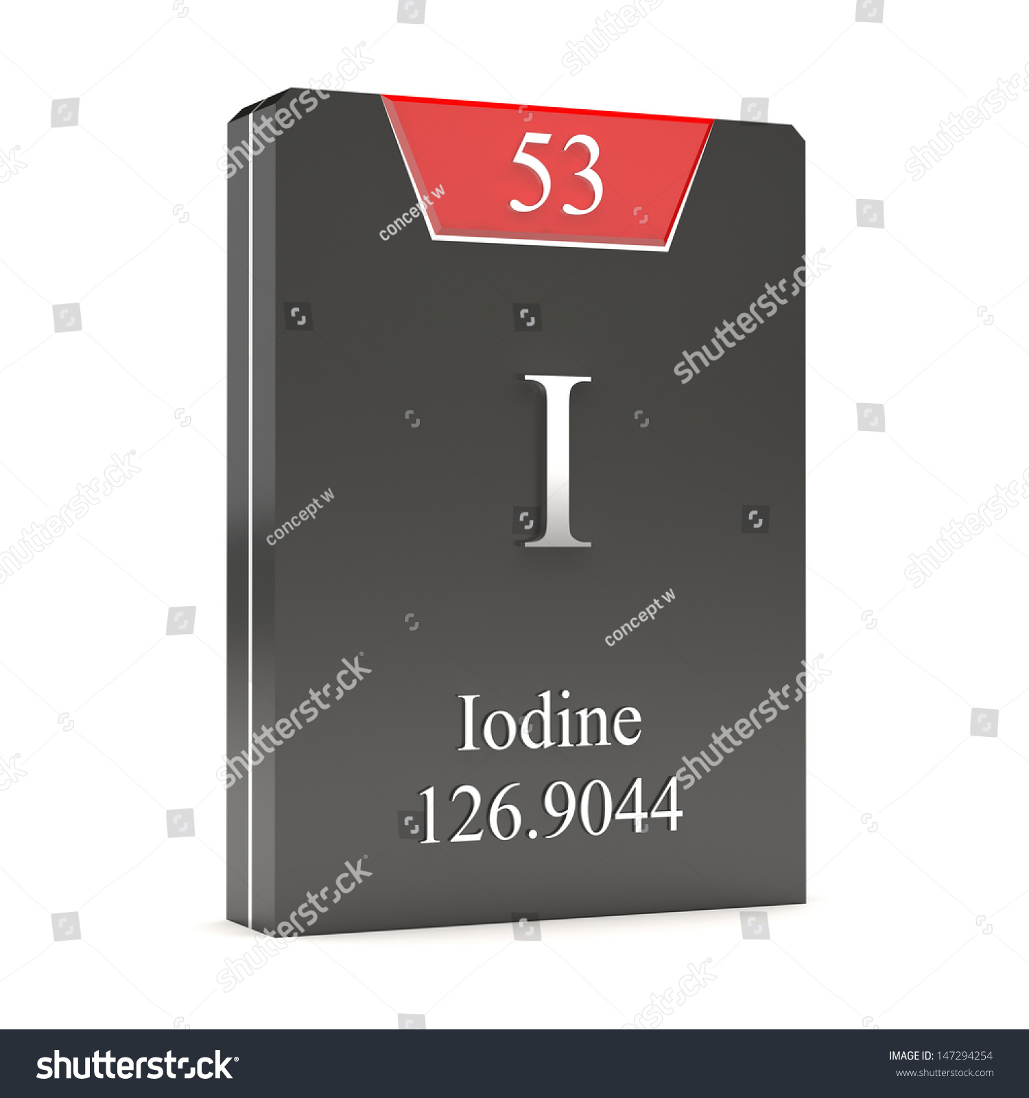 Iodine i 53 periodic table stock illustration 147294254 shutterstock iodine i 53 from periodic table gamestrikefo Gallery