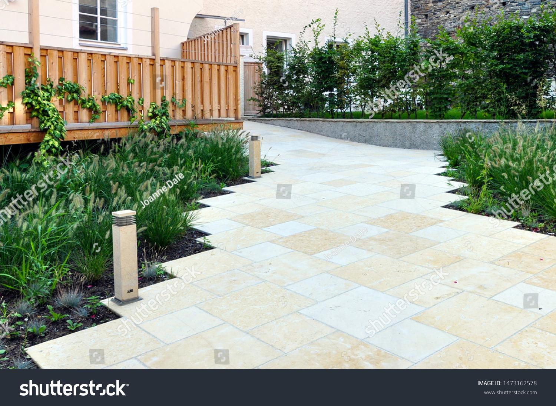 This Contemporary Garden Design Features Clean Stock Photo Edit Now 1473162578,Denton House Design Studio