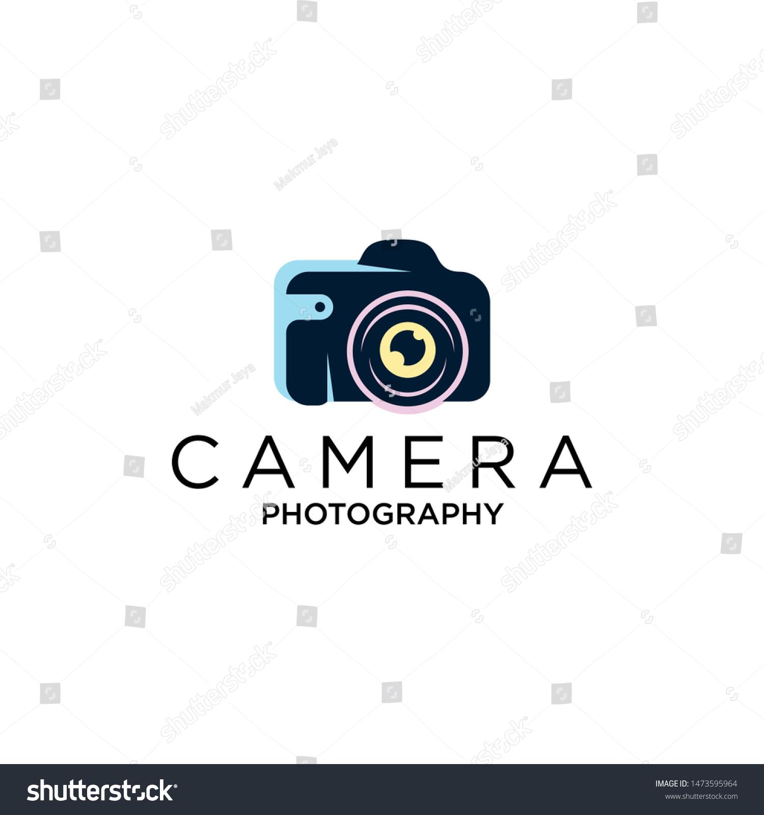 Camera Logo Design Vector Template Photography Stock Vector Royalty Free 1473595964