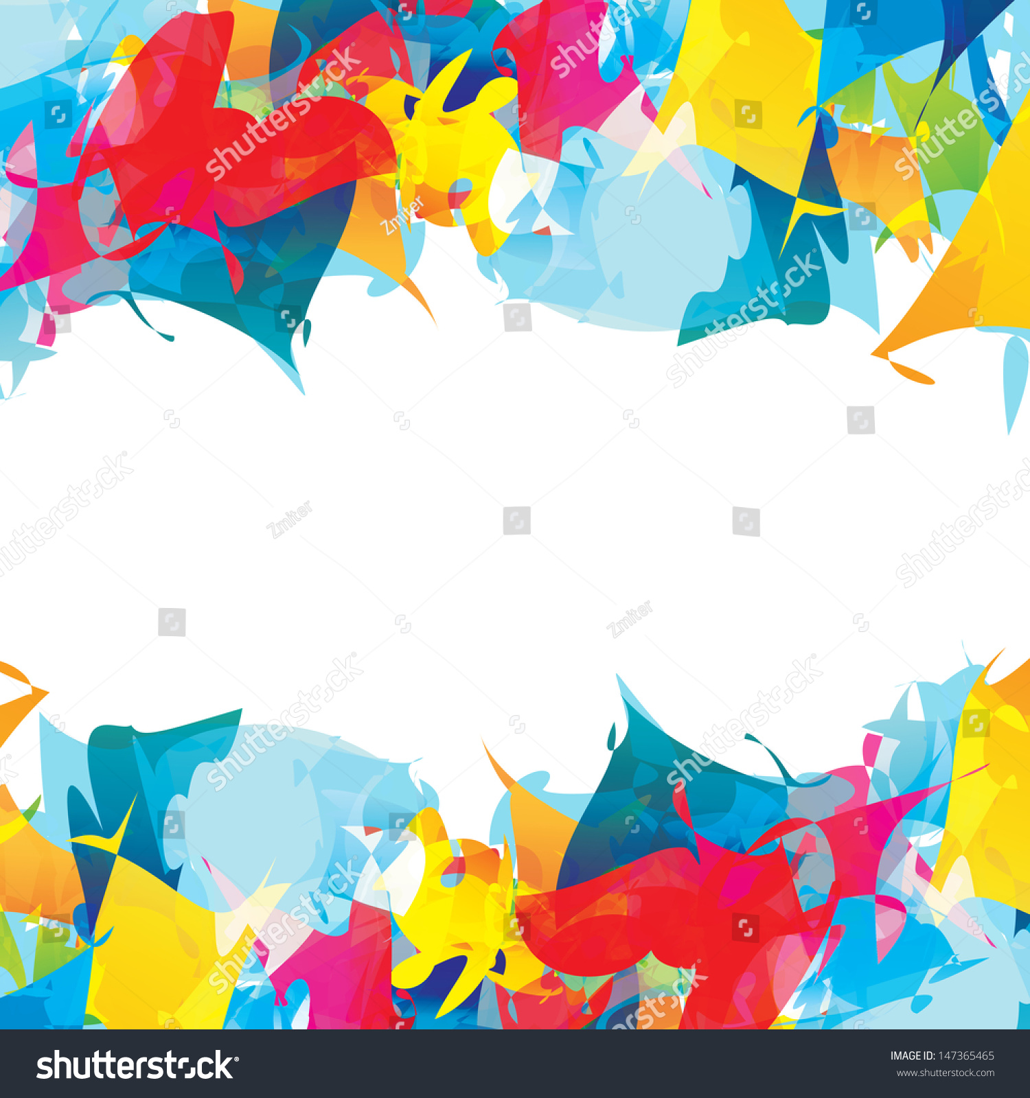 Colour Burst Abstract Vector Background Can Stock Vector