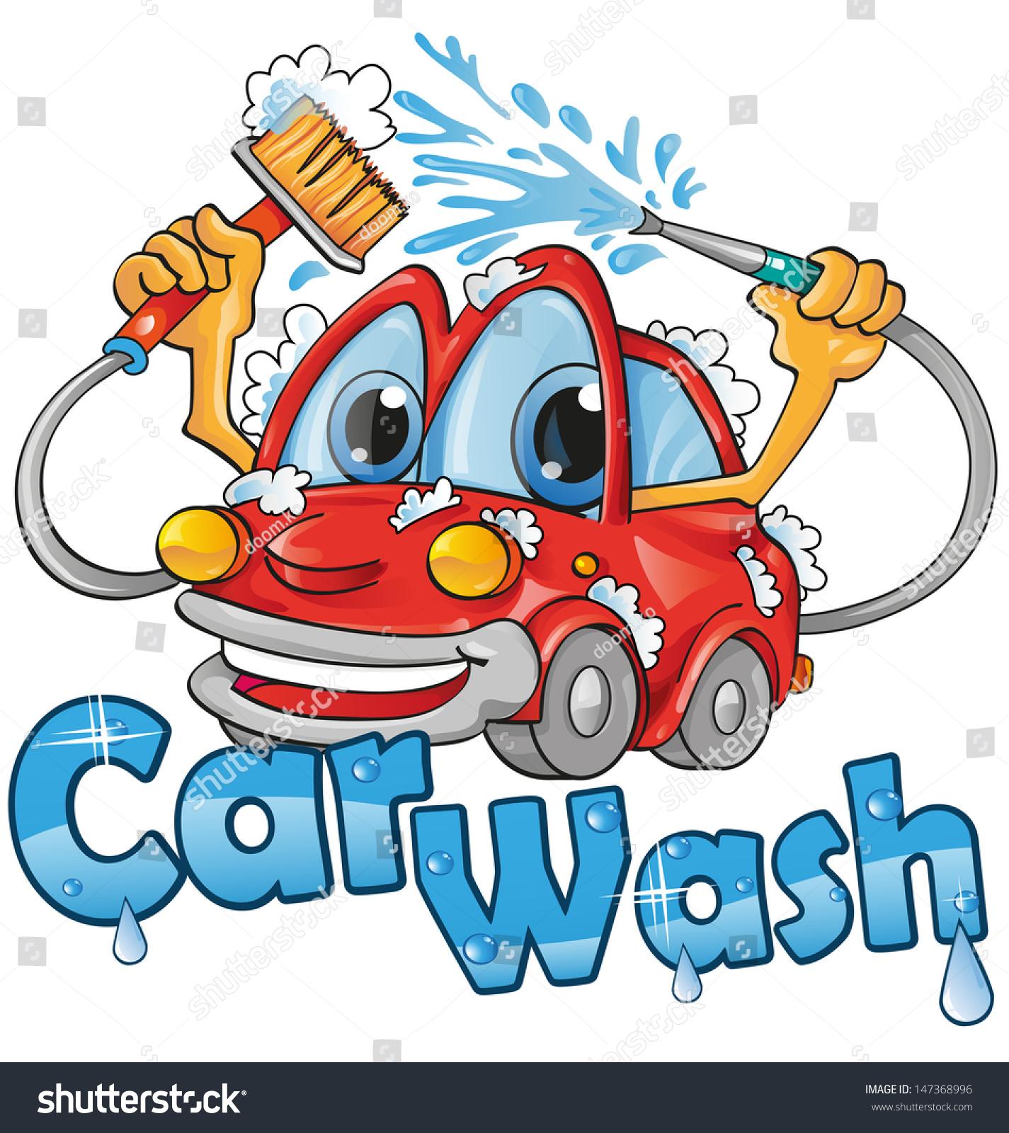 Car Wash Service Stock Vector 147368996 Shutterstock