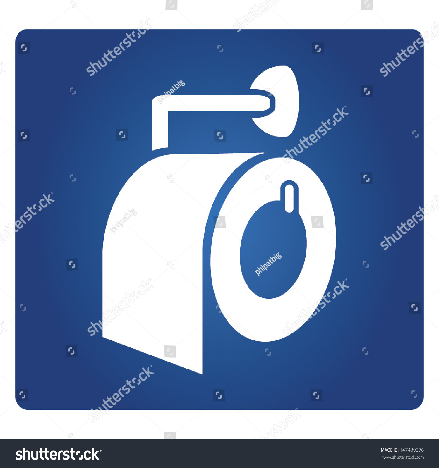 Preferred Toilet Tissue Roll Sign Toilet Paper Stock Vector HD (Royalty Free  XK85