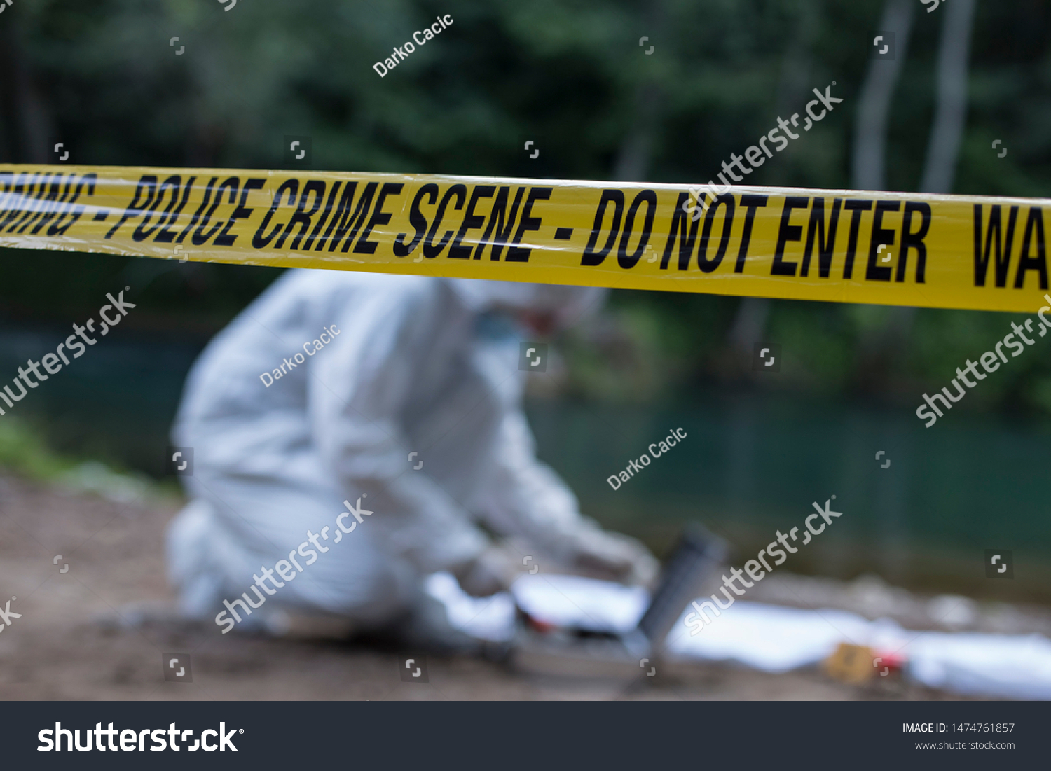 Crime Scene Investigation Forensic Equipment Stock Photo Edit Now 1474761857