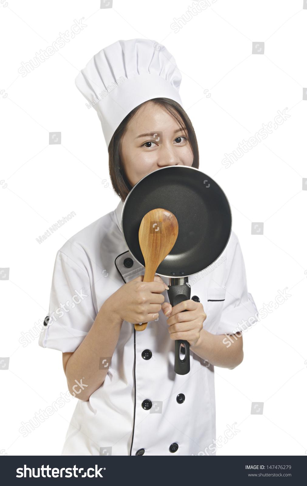 Asian Amateur young female asian amateur chef stock photo (edit now) 147476279
