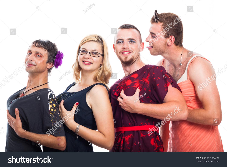 порно фото смотреть три мужика и одна женщина