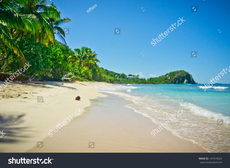 美丽的景色,托托拉岛,英属维尔京群岛-自然,公
