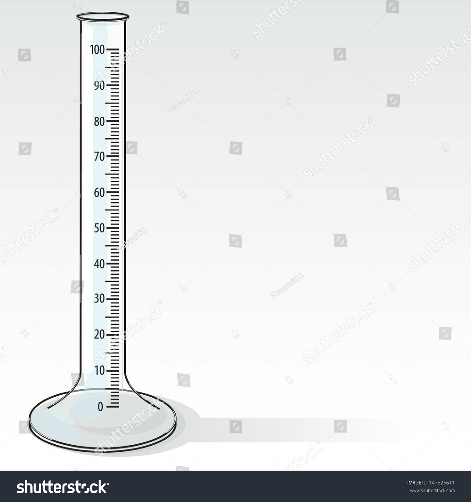 Graduated Cylinder Drawing