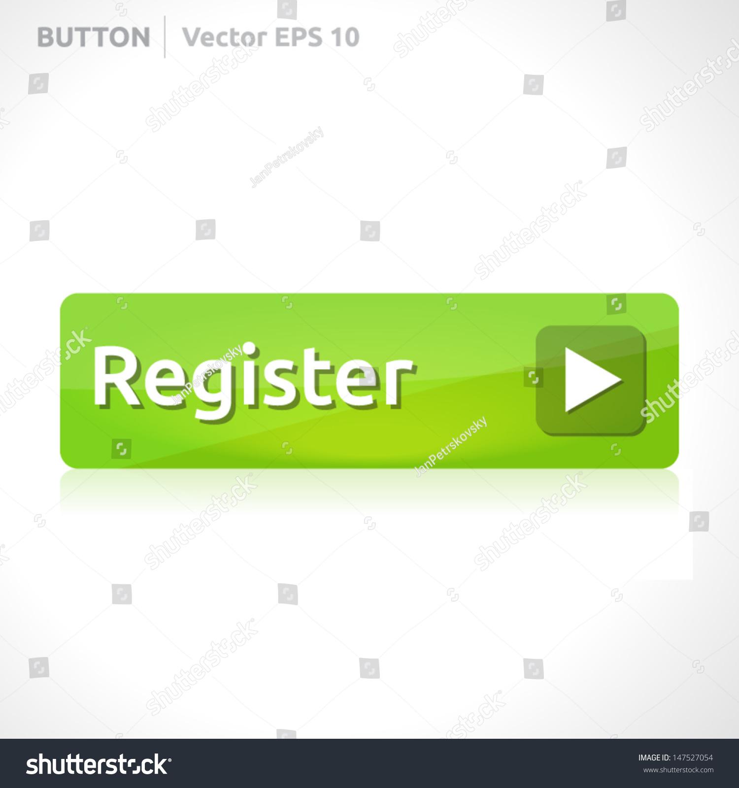 Register Button Template | Vector Design Eps | Business Banner ...