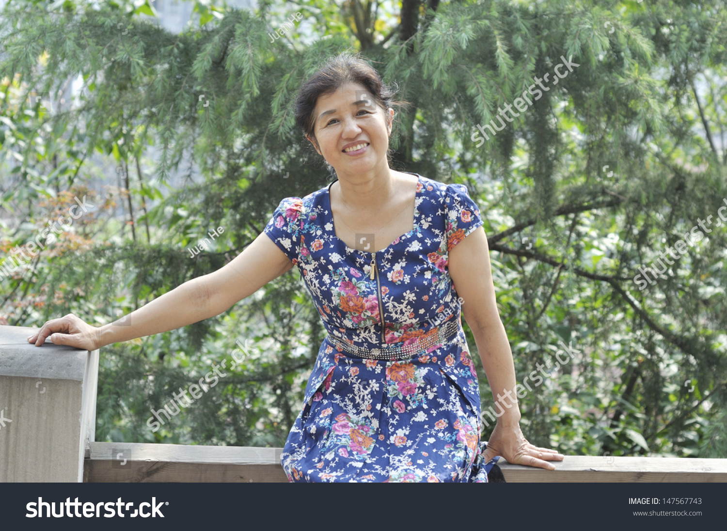 asian mature woman park stock photo 147567743 - shutterstock