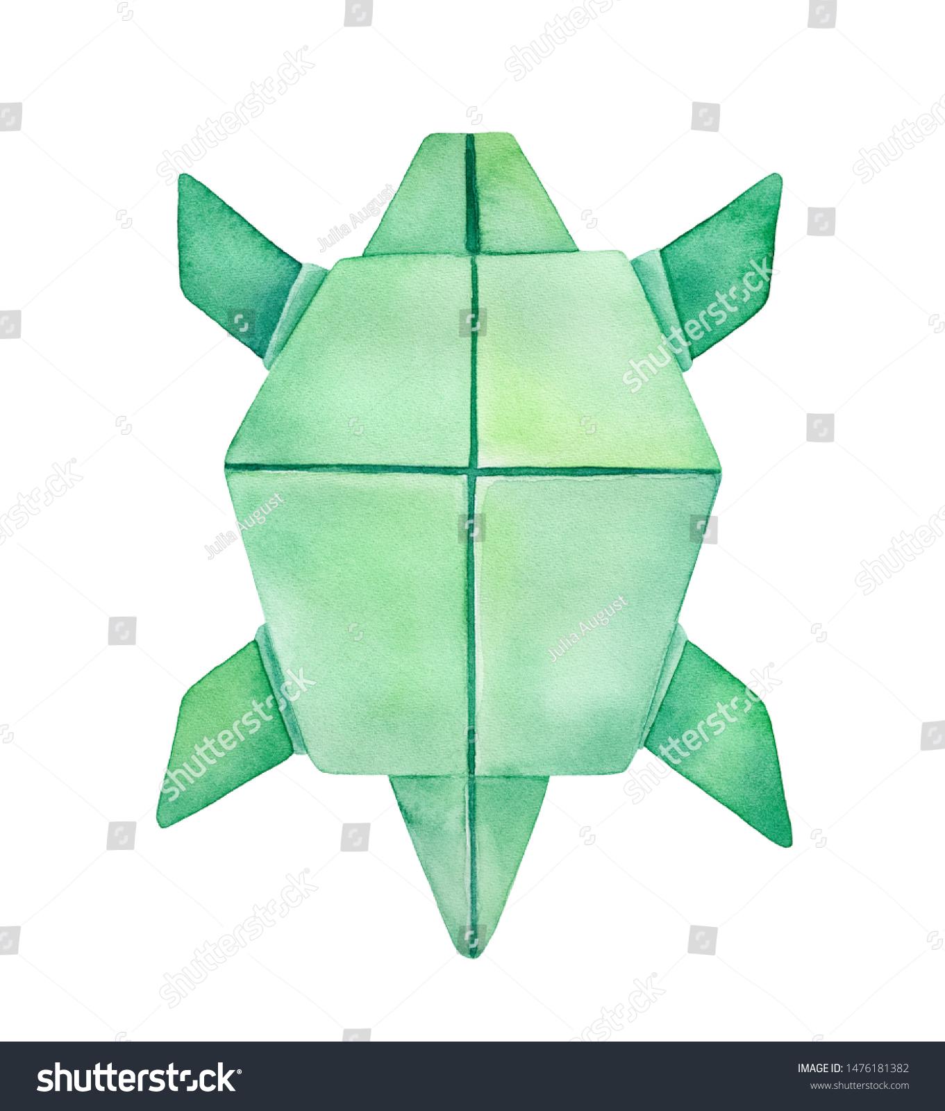 PAPER TURTLE | ORIGAMI TURTLE (Akira Yoshizawa) - Remake - YouTube | 1600x1361