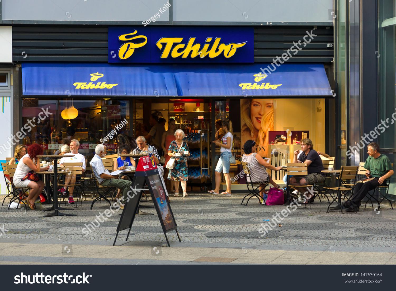 berlin july 24 shop tchibo on stock photo 147630164 shutterstock. Black Bedroom Furniture Sets. Home Design Ideas