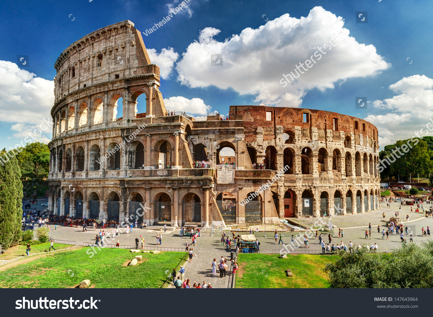 colosseum rome italy stock photo 147643964 shutterstock