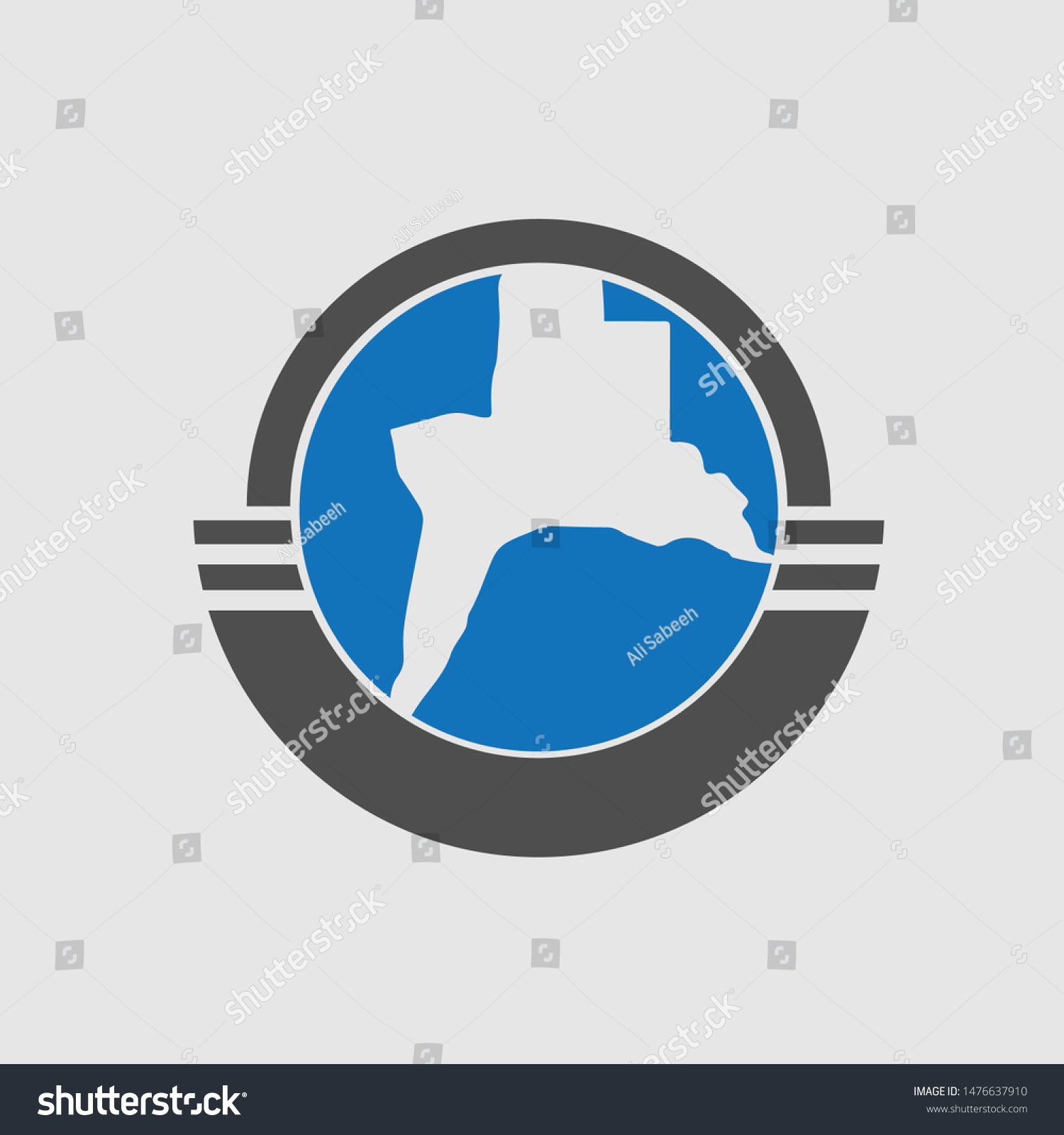stock-vector-iraq-basra-map-logo-1476637