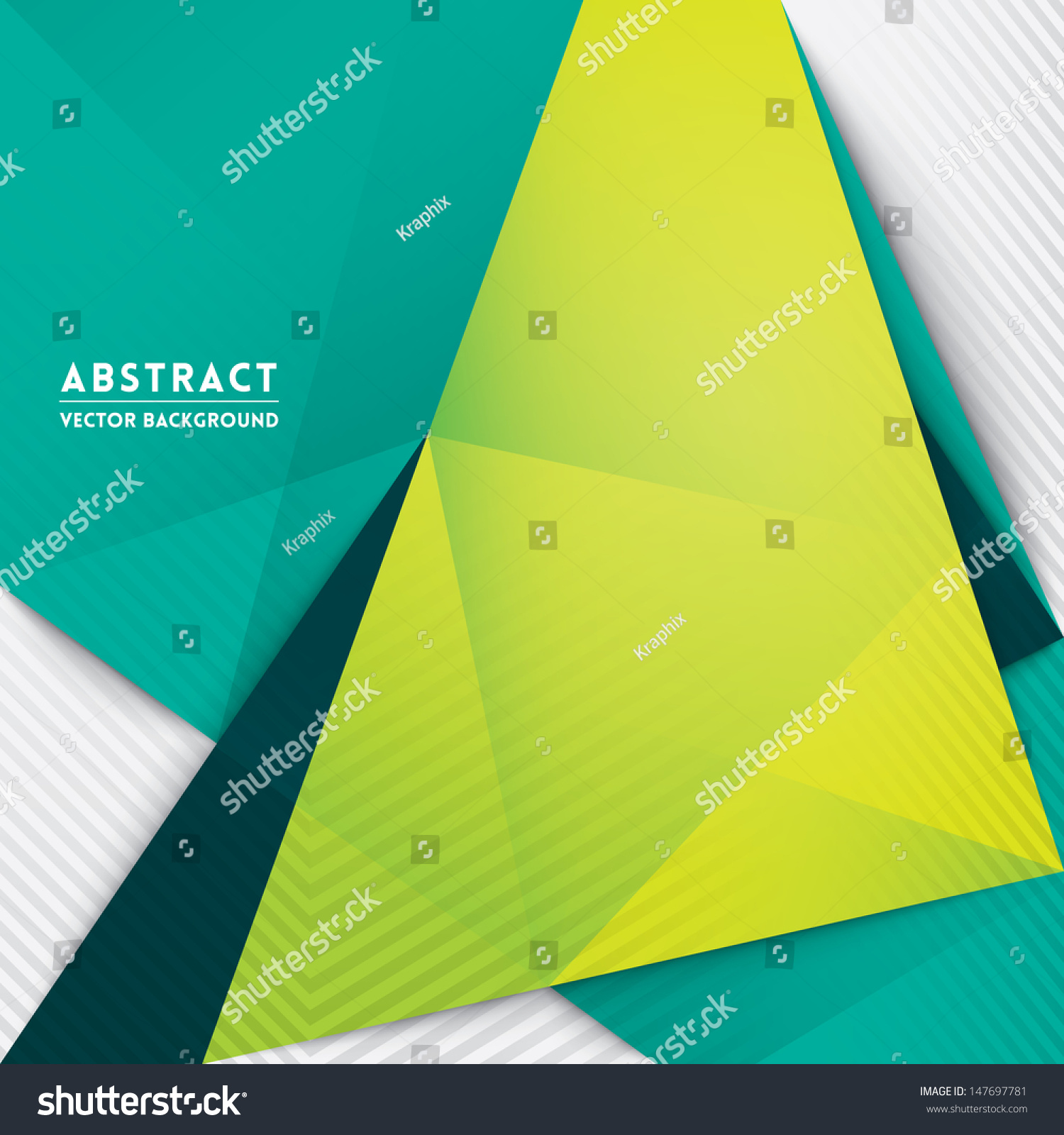 Book Cover Design Isolated Over Colorful Background : Abstract triangle shape background for web design print
