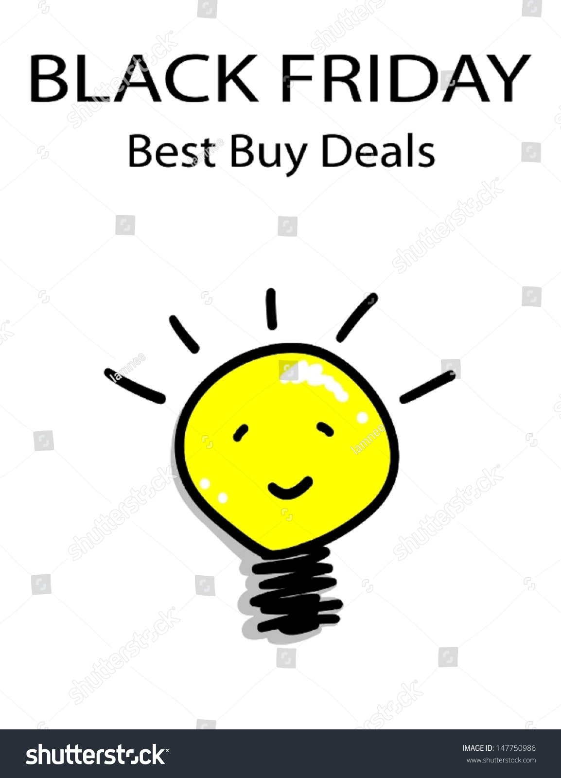 Black Friday Best Buy Deal Special Stock Vector (Royalty Free ...