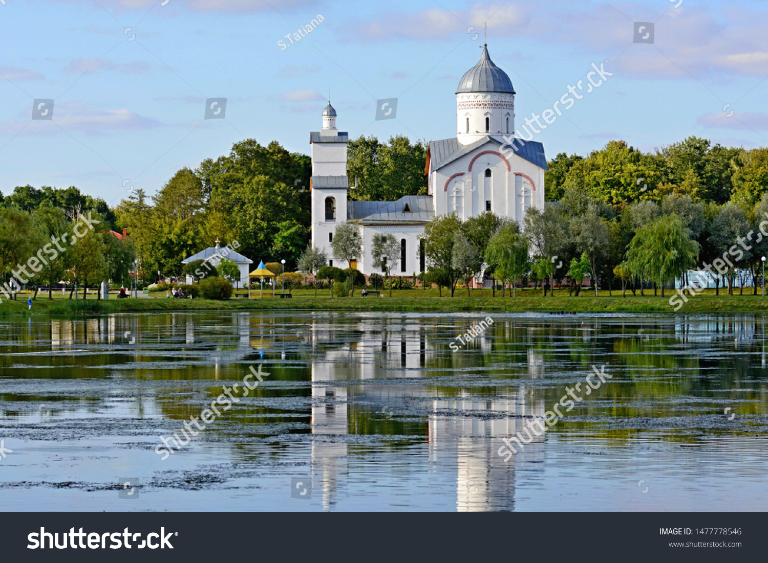 Church of the Holy Right Prince Alexander Nevsky. Gomel.Belarus.