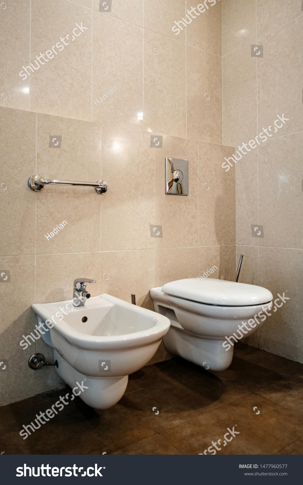 Interior Five Star Hotel Large Bathroom Stock Photo Edit Now 1477960577