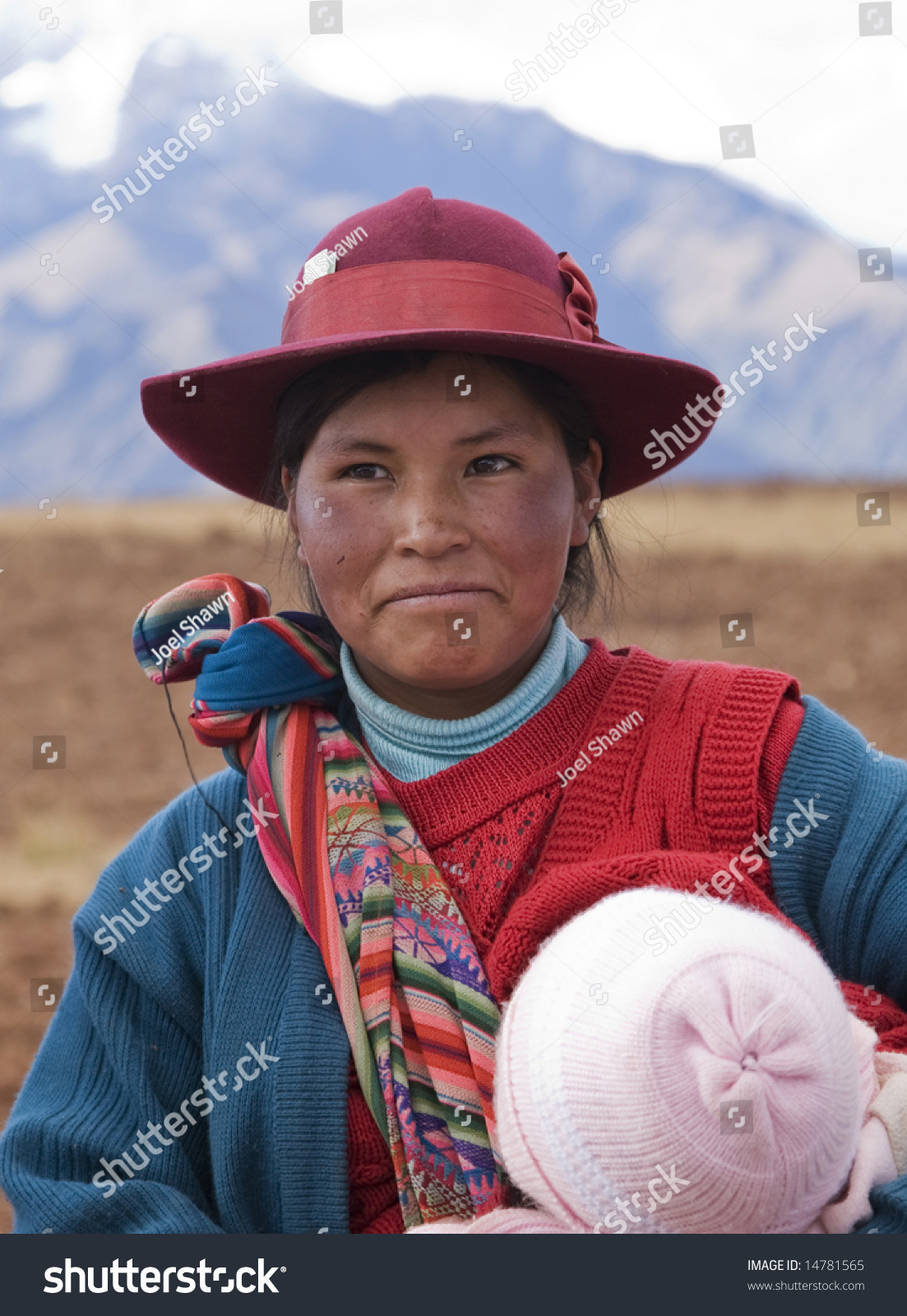 Peru August 1 Native Peruvian Women Stock Photo Edit Now 14781565