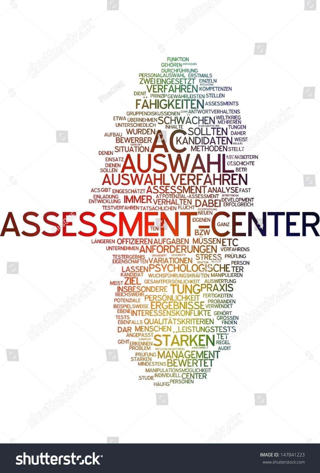 word cloud assessment center stock illustration 147841223, Einladung