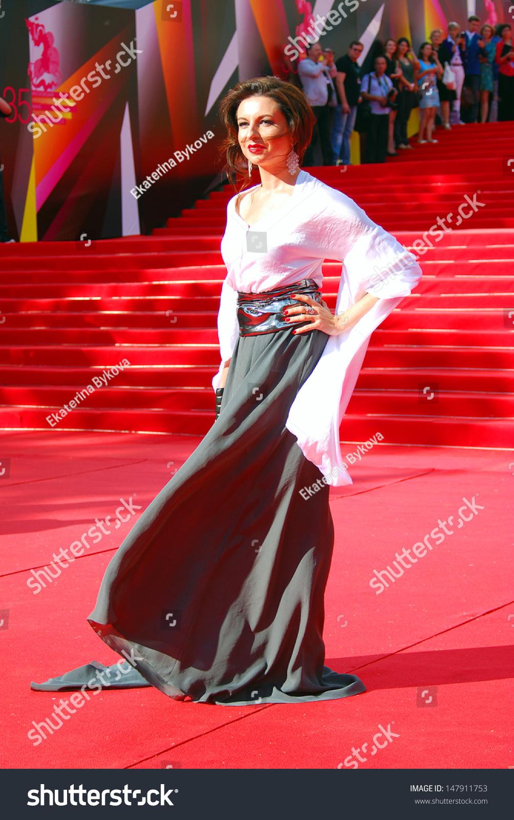 Alisa Khazanova moscow russia june 20 former ballerina stock photo (edit now