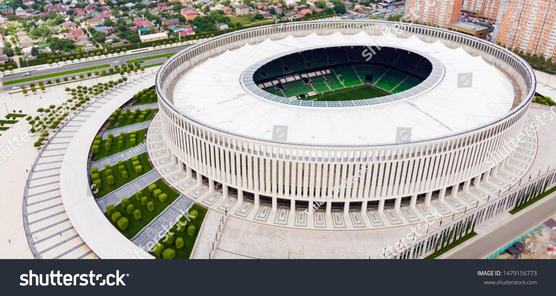 Krasnodar Russia08042019 Football Stadium Krasnodar Stadium Stock Photo Edit Now 1479156773