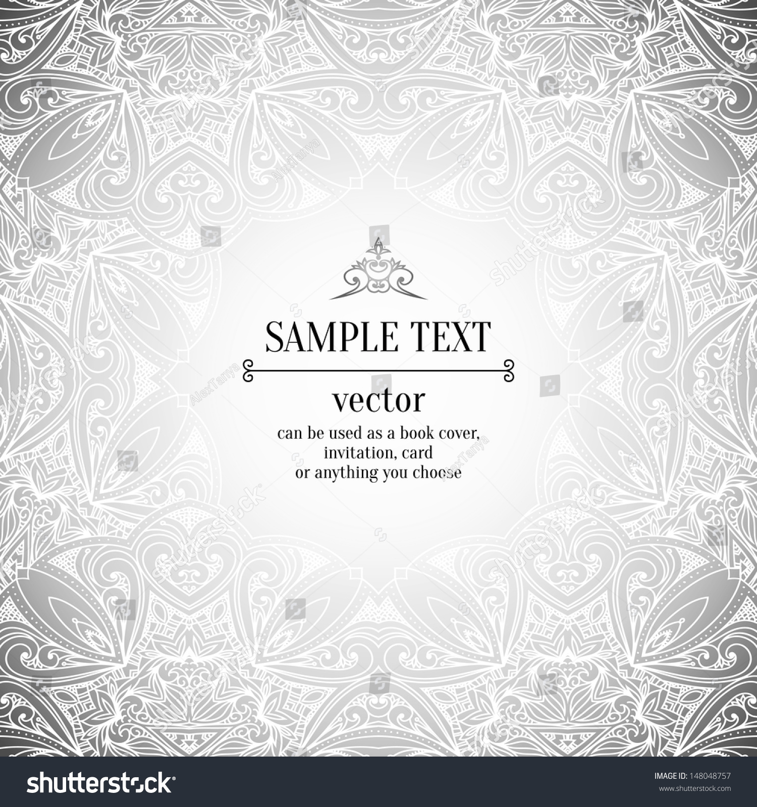 Vintage Black And White Background 56