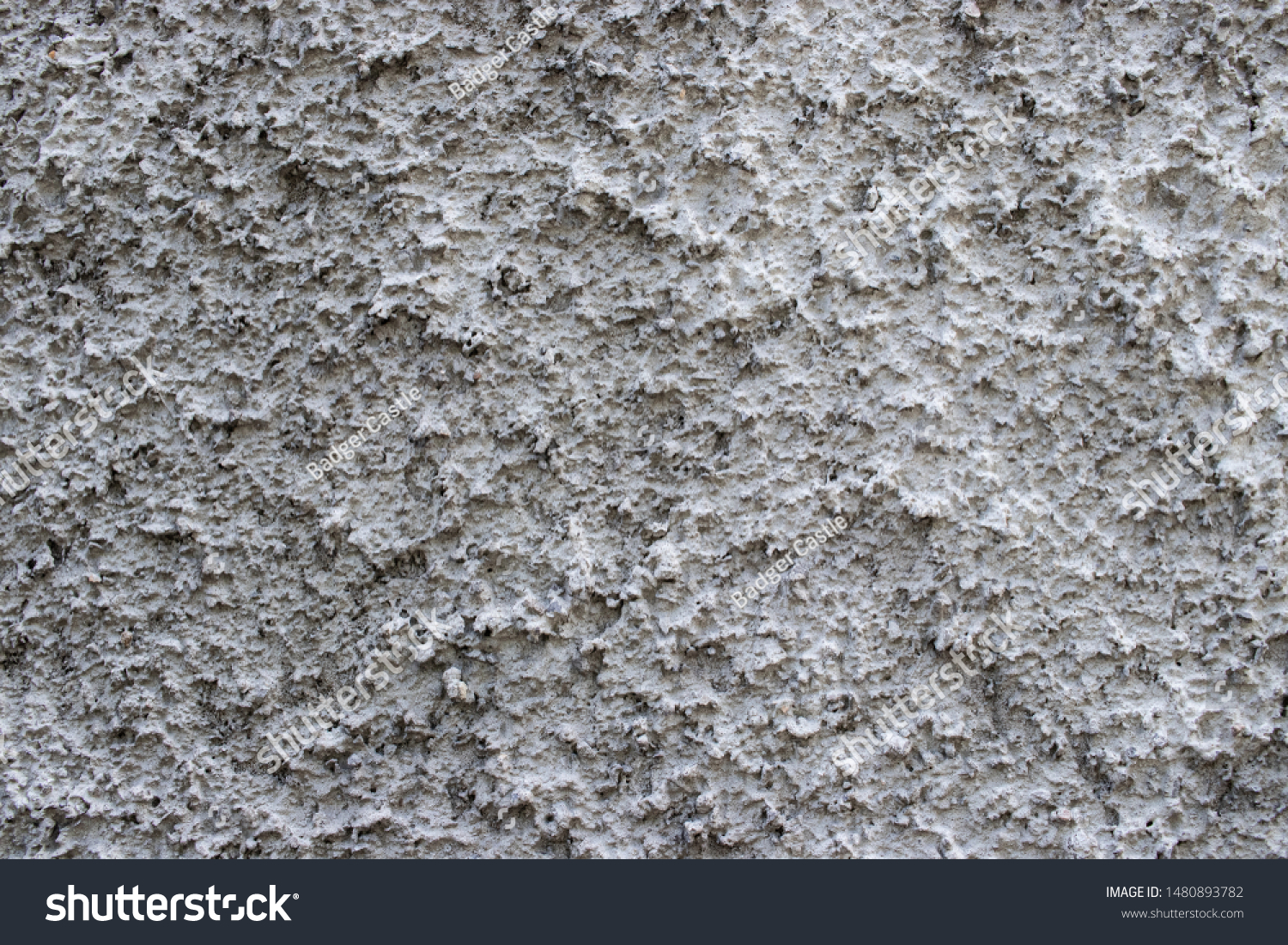 White stucco concrete wall surface texture background surface grunge grit detail #1480893782