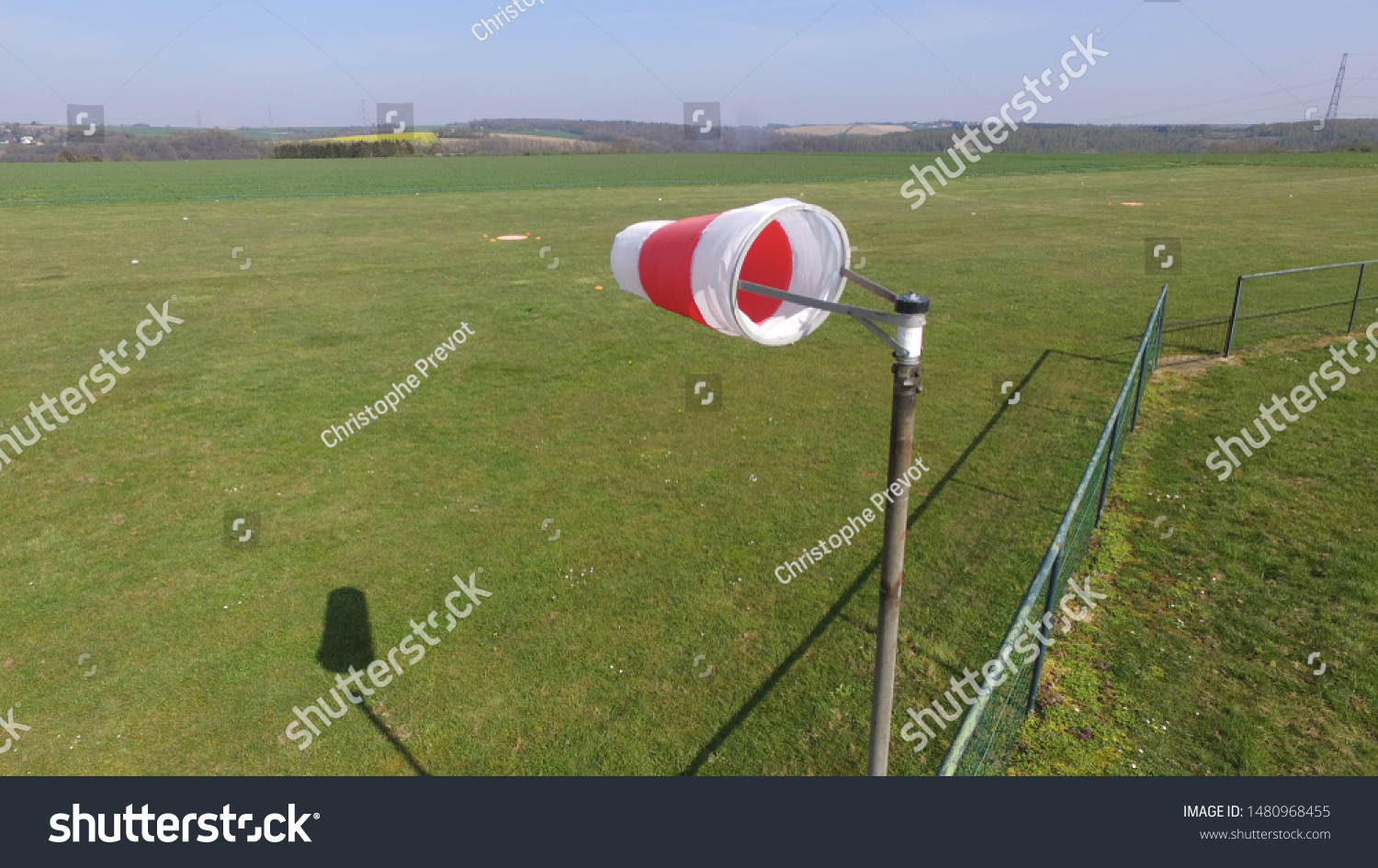 windsock on a windy day #1480968455