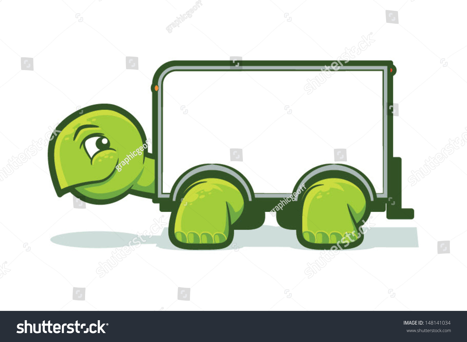 Diagram Of A Box Truck Graphic Trusted Schematics Fuse Cartoon Tortoise Shell Vector Turtle Stock Royalty 84 Chevy