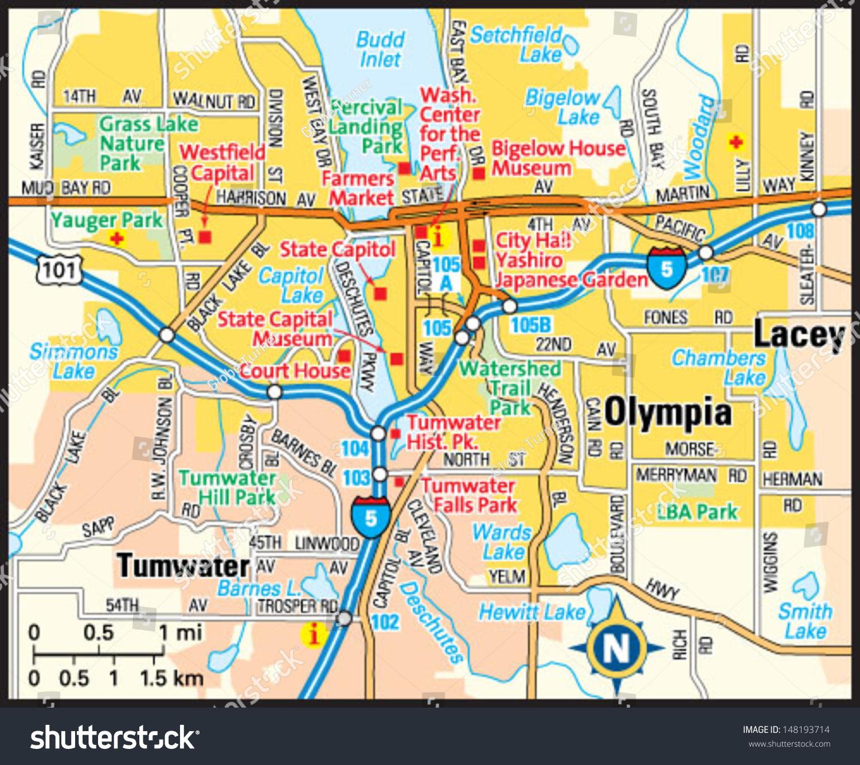 Olympia Washington Map Clubmotorseattle