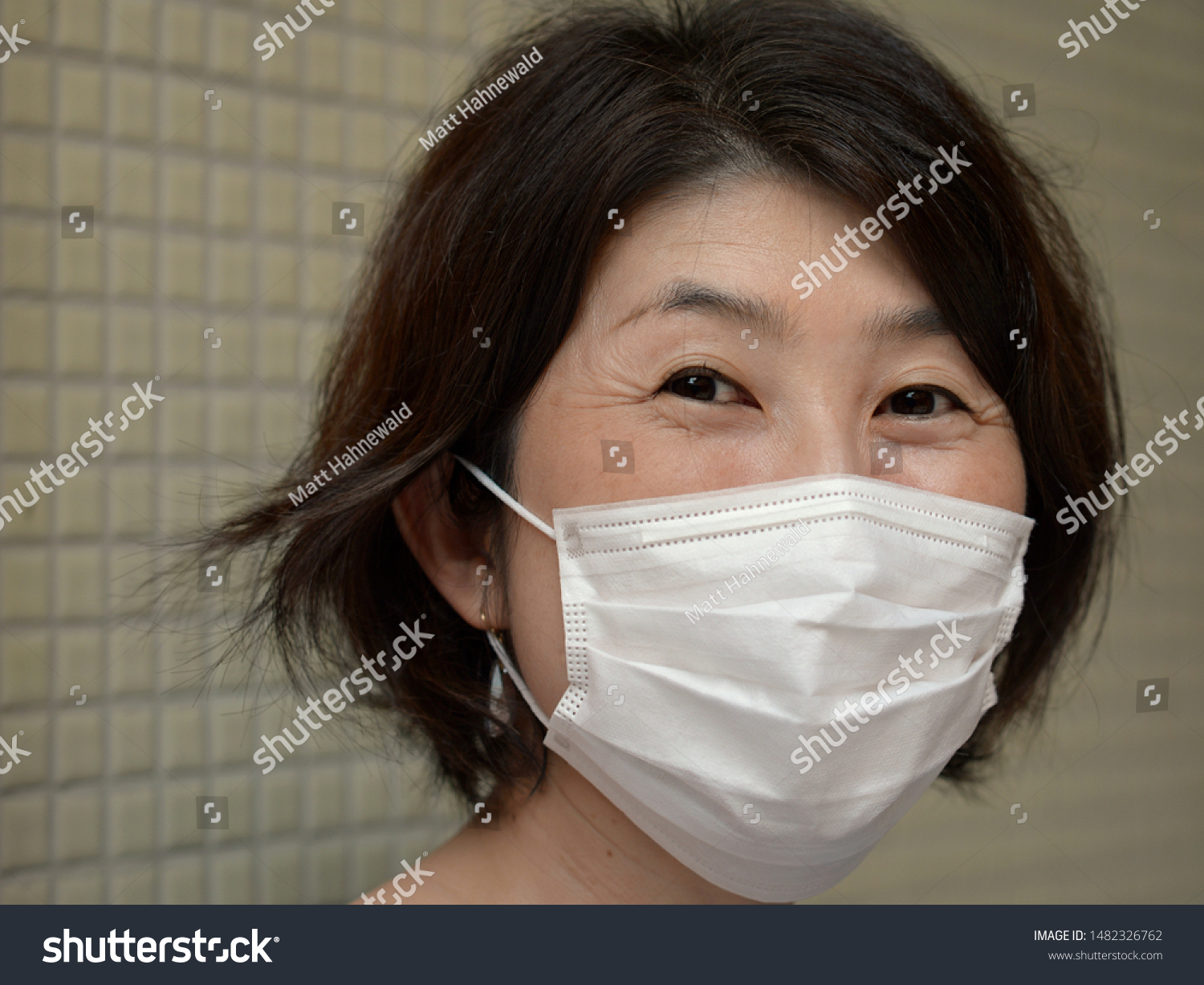 disposable japanese face mask