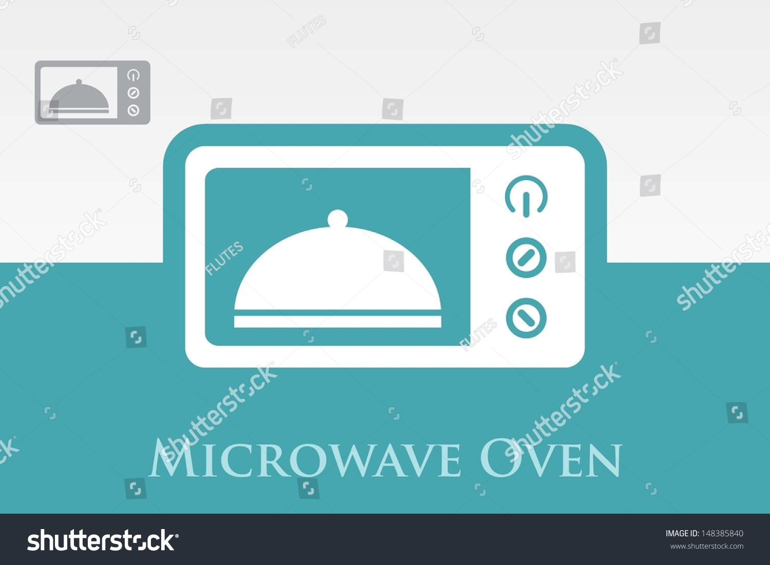 Microwave oven symbol vector stock vector 148385840 shutterstock microwave oven symbol vector buycottarizona Image collections