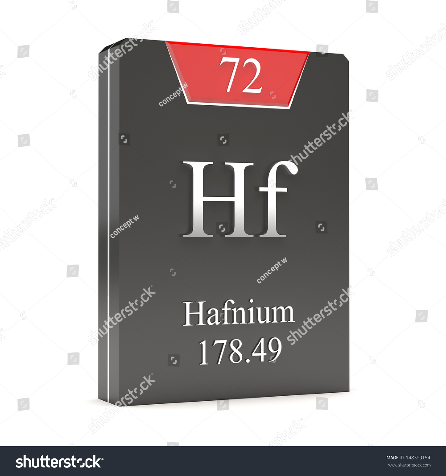 Hafnium hf 72 periodic table stock illustration 148399154 hafnium hf 72 from periodic table gamestrikefo Images