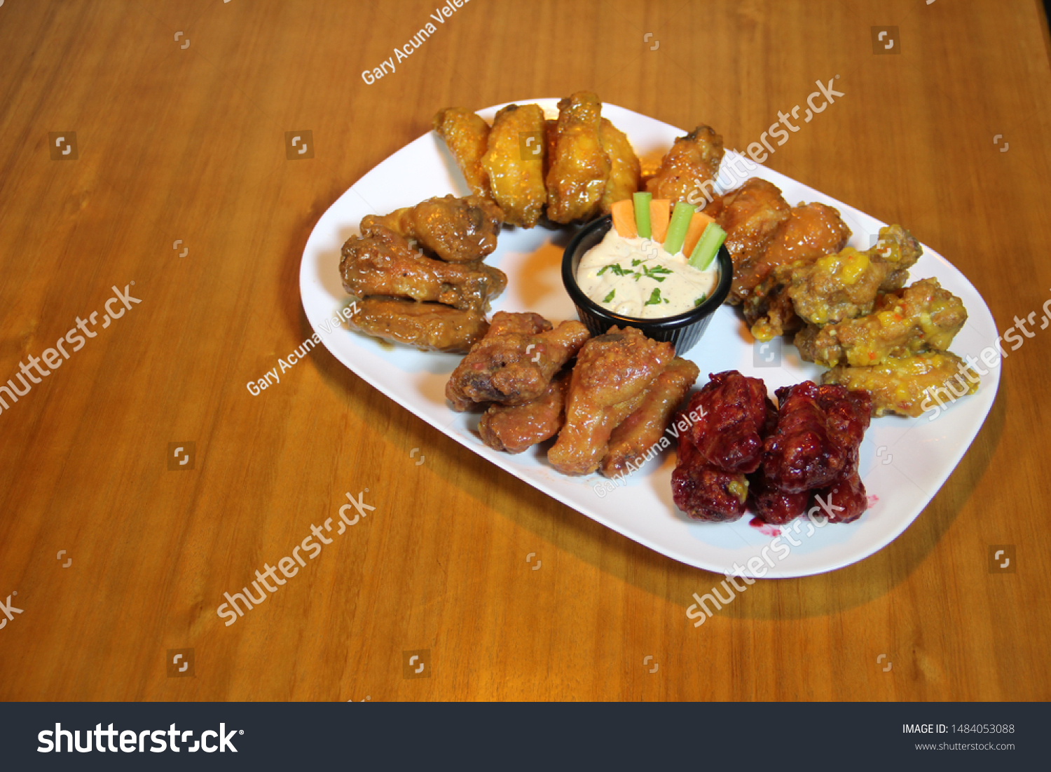 food and drinks , chicken wings #1484053088