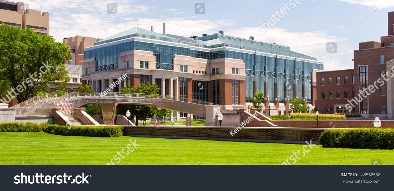 Minneapolisusa July Hasselmo Hall On Stock Photo - Largest university in usa