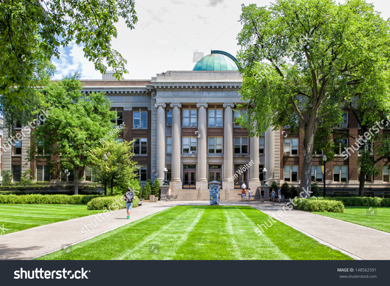 Minneapolisusa July Tate Laboratory On Stock Photo - Largest university in usa