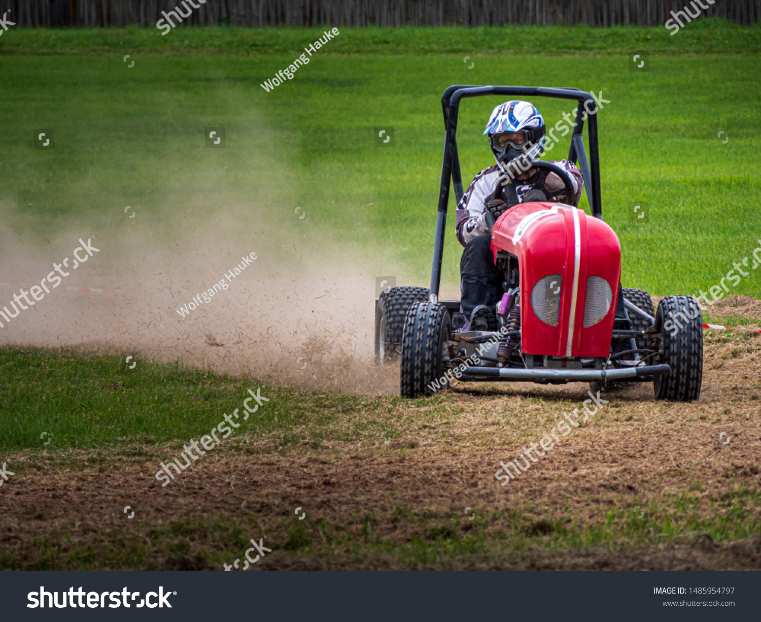 Lawn Mower Race Tuned Engines Which Stock Photo Edit Now 1485954797