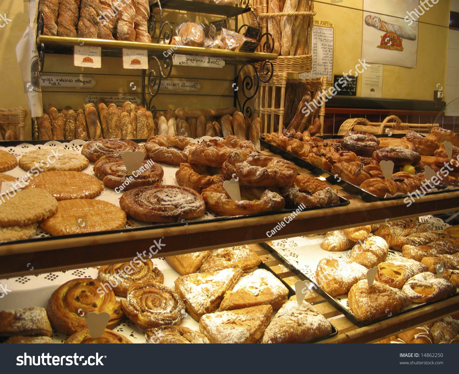 french pastries display into a cake shop into the town of metz lorraine region france. Black Bedroom Furniture Sets. Home Design Ideas