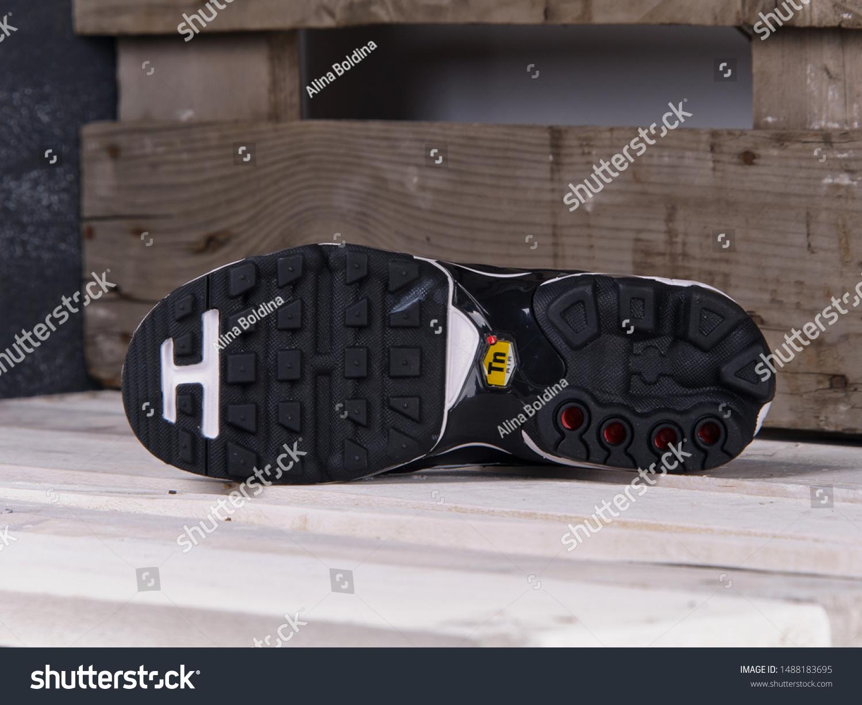 Sole Unit Nike Air Max Plus Stock Photo