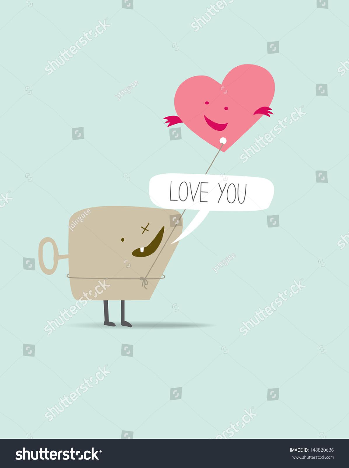 Cute Cartoon Characters In Love