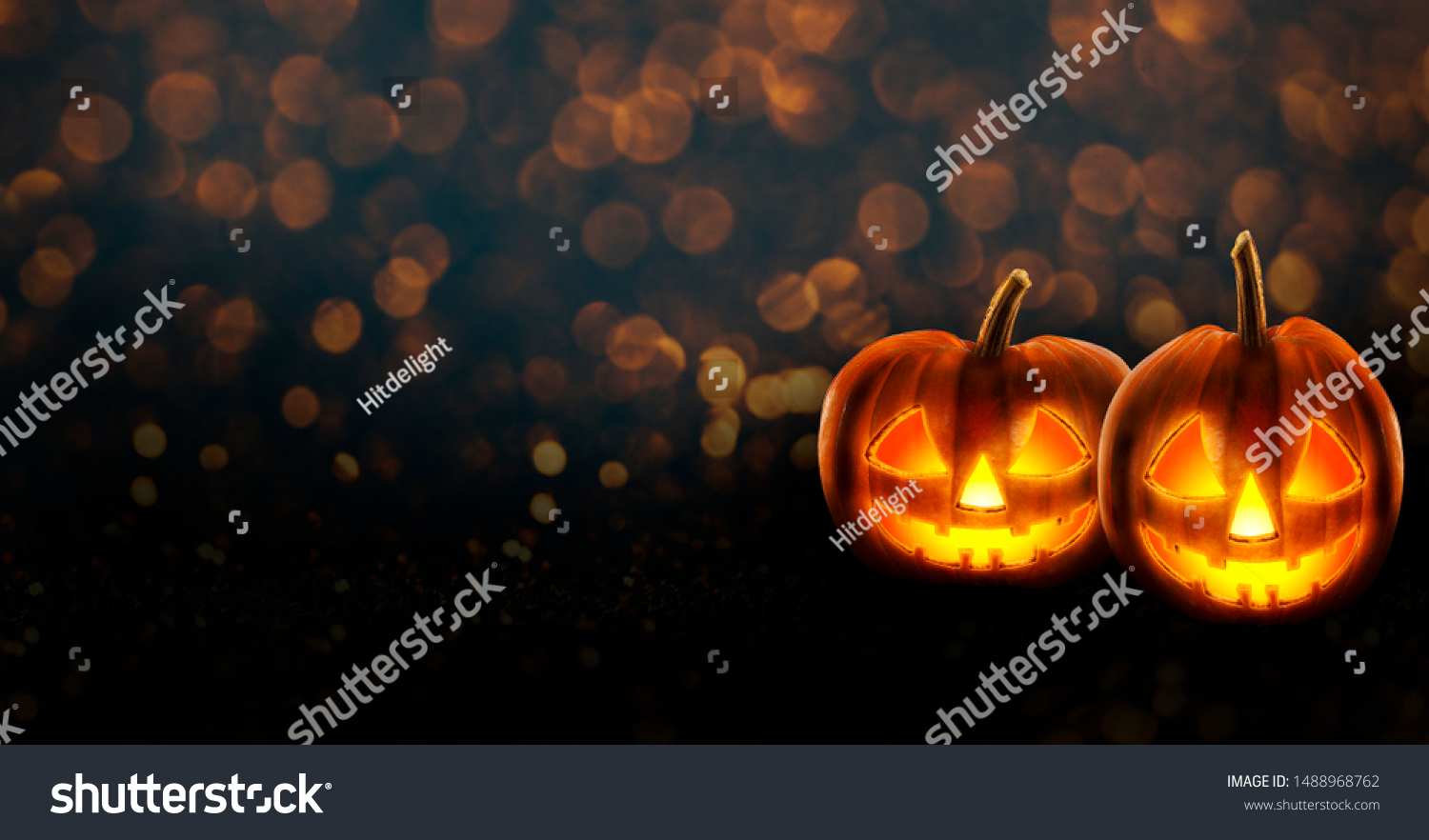 Halloween Background Wallpaper Jack O Lantern Stock Photo Edit
