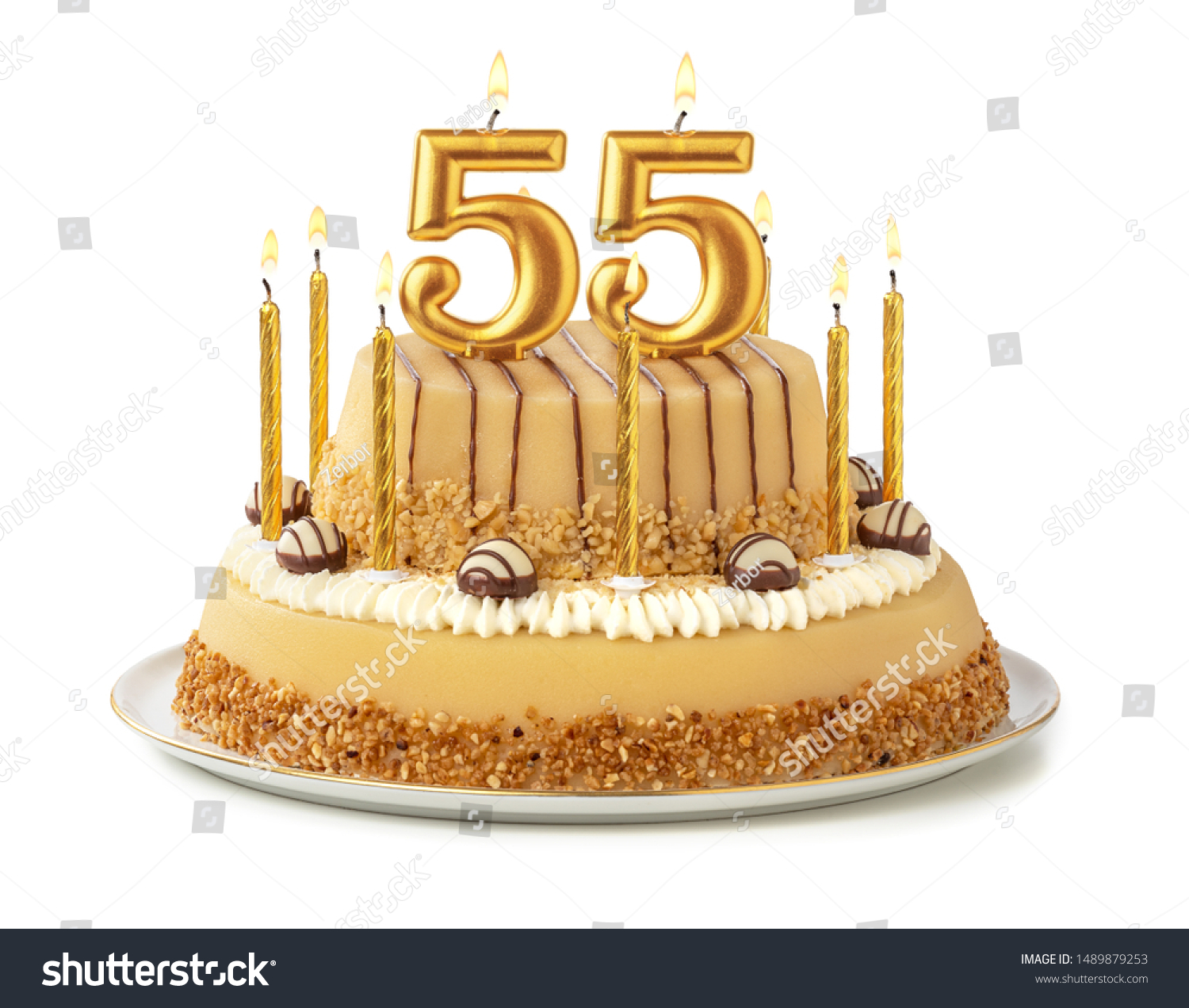Fine Birthday Cake With Candles 55 Stock Photos Images Photography Funny Birthday Cards Online Inifofree Goldxyz