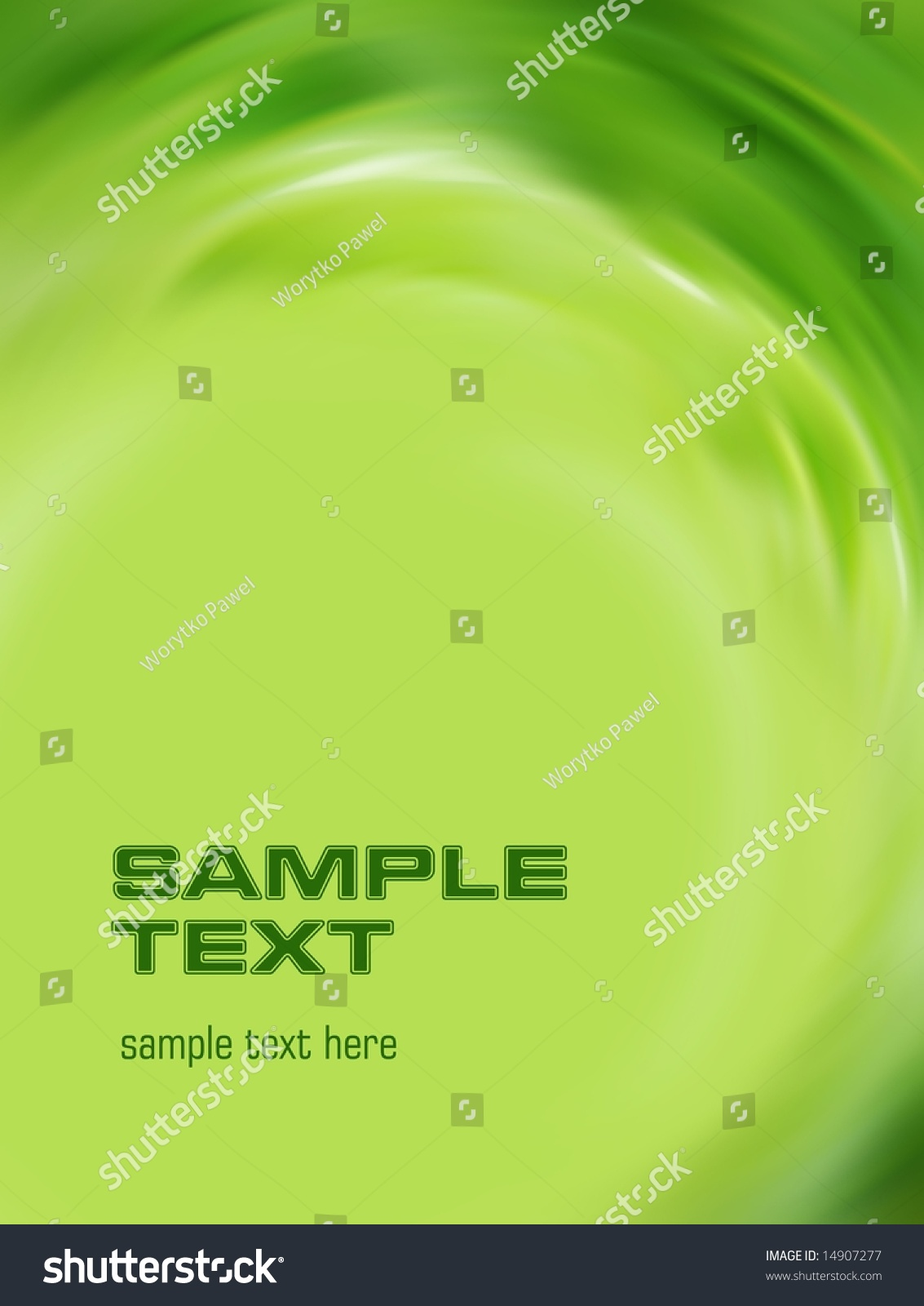 Green background easy remove text stock illustration for Removethebackground com