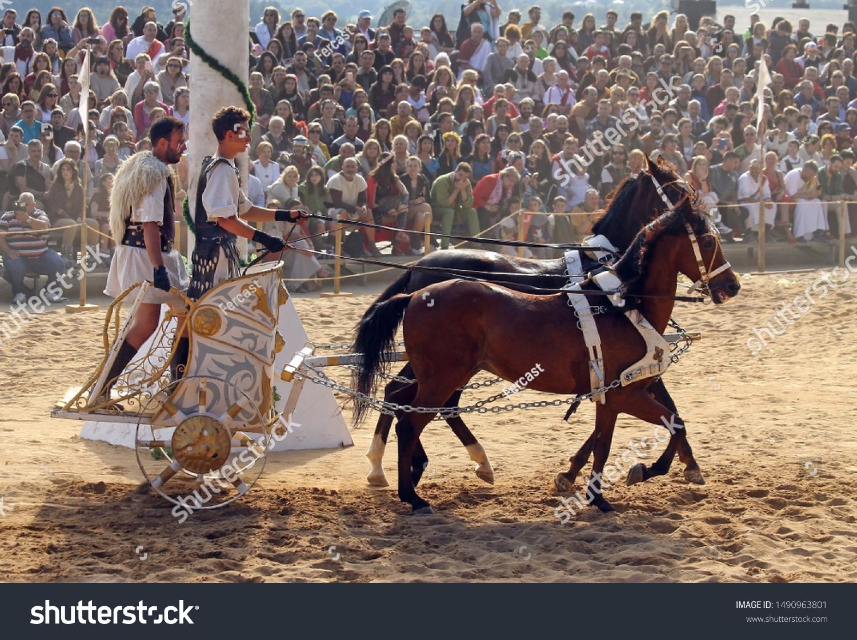 stock-photo-lugo-spain-men-riding-horses