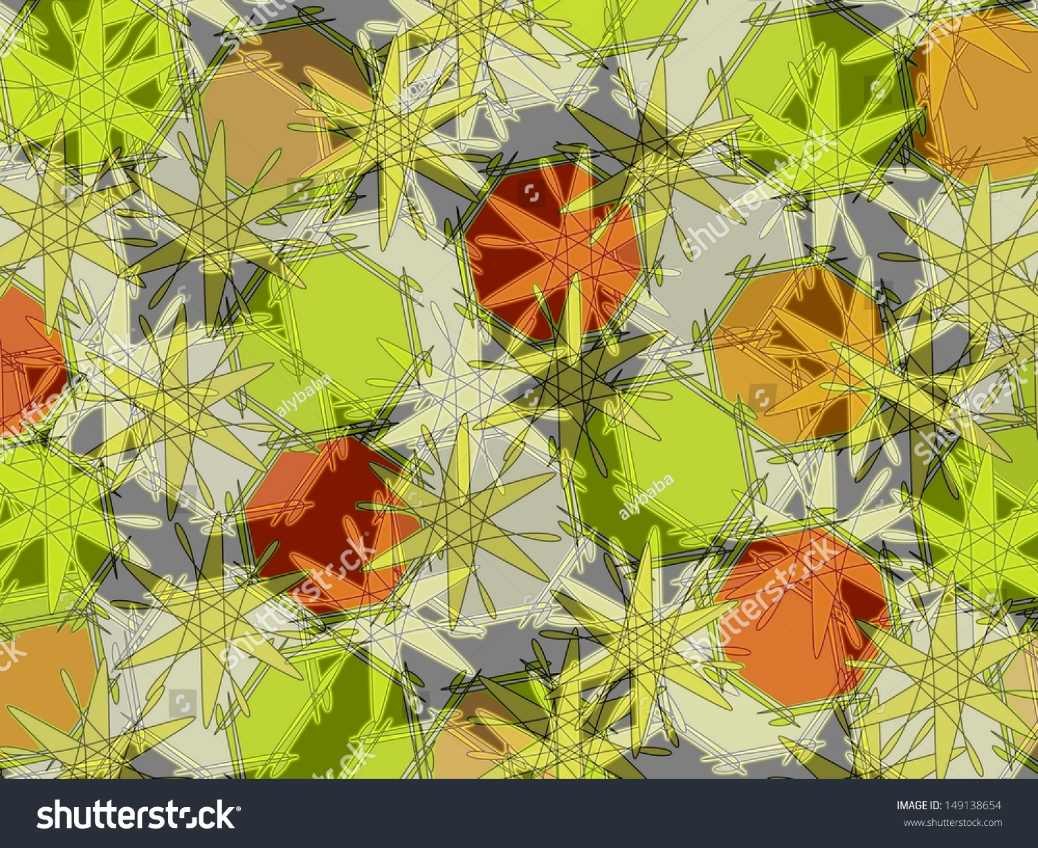 vibrant design modern floral wallpaper. Bright colorful modern abstract design with geometric and floral motifs  superimposed on plain grey background to Colorful Modern Abstract Design Geometric The Best 100 Vibrant Floral Wallpaper Image